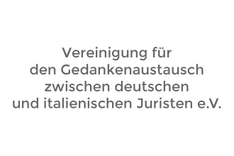 vereinigung für den gedankenaustausch zwischen deutschen und italienischen juristen e.V.